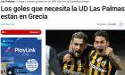"""Τα ισπανικά ΜΜΕ τα """"χώνουν"""" στην Λας Πάλμας λόγω Αραούχο-Λιβάγια"""