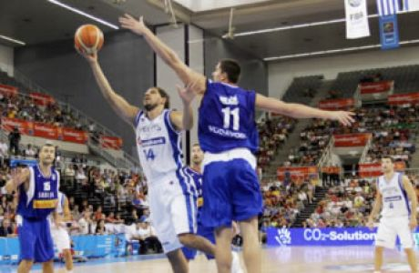 Ελλάδα-Σερβία 68-67 παρ.