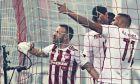 O Ελ Αραμπί πέτυχε το 14ο φετινό του τέρμα στο πρωτάθλημα κόντρα στον Άρη, ματς στο οποίο ο Ολυμπιακός επικράτησε με σκορ 4-2 στο 'Γ. Καραϊσκάκης' για την 19η αγ. της Super League (19/01/2020). ΦΩΤΟΓΡΑΦΙΑ: LATO KLODIAN / EUROKINISSI