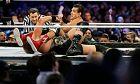 Στιγμιότυπο από παλαιότερη αναμέτρηση των Χοσέ Αλμπέρτο Ροντρίγκες-Τζέικομπ Χέιγκερ για το WWE