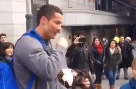 Ο... άστεγος Ρονάλντο (VIDEO)
