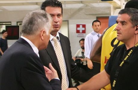 """Πρίφτης: """"Εντάσεις της στιγμής"""". Μαρκόπουλος: """"Να μας πουν οι διαιτητές πώς σφυρίζουν"""""""