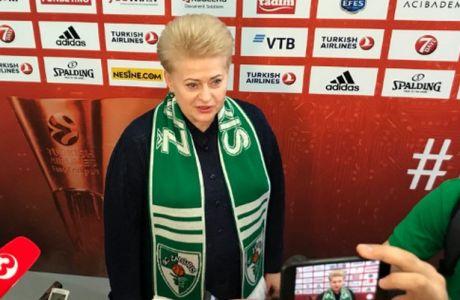 Η... Μέρκελ της Λιθουανίας πήγε Βελιγράδι για να δει και να σχολιάσει τη Ζαλγκίρις