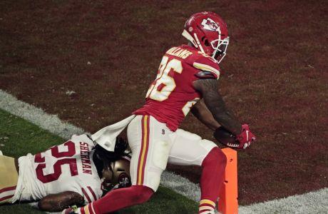 Ο Ντέιμιεν Γουίλιαμς σκοράρει το πιο αμφιλεγόμενο touchdown του Super Bowl του 2020 και οι Chiefs κατακτούν το τρόπαιο μετά από 50 χρόνια