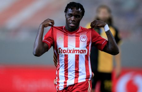Ο Μπρούμα πέρασε ως αλλαγή στο δεύτερο ημίχρονο και με δύο γκολ οδήγησε τον Ολυμπιακό στη νίκη με σκορ 2-0 επί της ΑΕΚ, για την 6η αγ. των playoffs της Super League Interwetten.