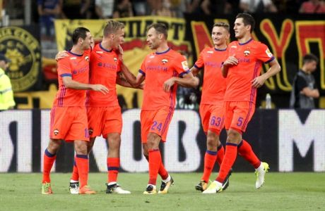 ÔÓÁÌÐÉÏÍÓ ËÉÃÊ / ÁÅÊ - ÔÓÓÊÁ ÌÏÓ×ÁÓ / CHAMPIONS LEAGUE / AEK - CSKA MOSCOW (LATO KLODIAN / Eurokinissi Sports)