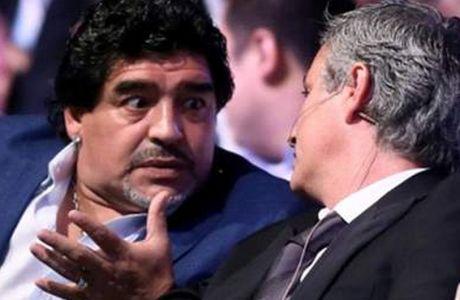 """Μαραντόνα: """"Ο Μουρίνιο είχε δίκιο για τον Κασίγιας"""""""