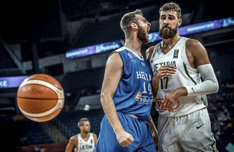 ÅÕÑÙÌÐÁÓÊÅÔ 2017 / ËÉÈÏÕÁÍÉÁ - ÅËËÁÄÁ / EUROBASKET 2017 / LITHUANIA - GREECE / / (ÖÙÔÏÃÑÁÖÉÁ: FIBA.COM)