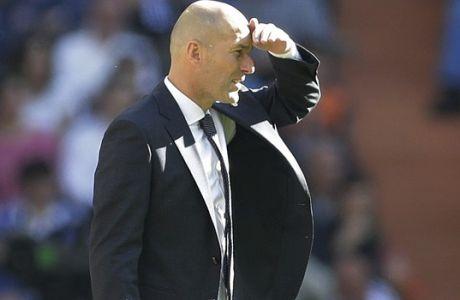 Ο Ζιντάν κατάφερε να μην αλλάξει καθόλου τη Ρεάλ Μαδρίτης