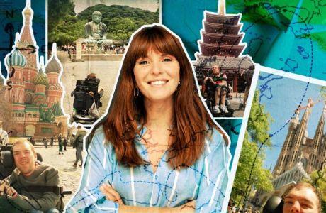 O Trawheeler ταξιδεύει τη Μαίρη Ρετσίνα και το Ticket To Ride σε έναν κόσμο προσβάσιμο για όλους