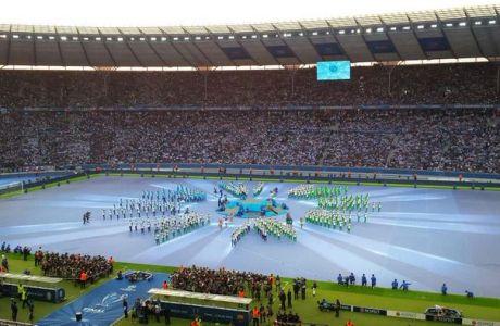 Η εντυπωσιακή τελετή έναρξης του τελικού του Champions League