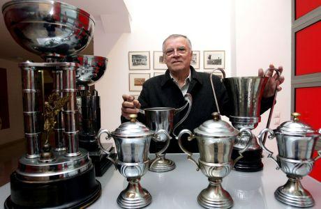 Ο Σάββας Θεοδωρίδης με τα ... λατρεμένα του πρωταθλήματα