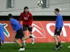 ΚΥΠΕΛΛΟ ΟΥΕΦΑ / ΠΡΟΠΟΝΗΣΗ ΤΗΣ ΧΕΡΤΑ / UEFA CUP / HERTA TRAINING
