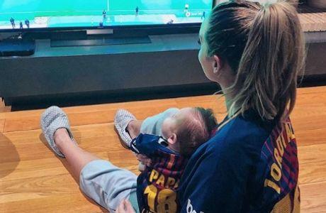Ο πιο φανατικός οπαδός της Μπαρτσελόνα είναι μόλις δύο μηνών