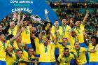 Η Εθνική Βραζιλίας, πρωταθλήτρια του Copa America.