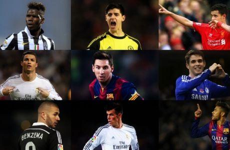 Ιδού οι 20 πιο ακριβοί πoδοσφαιριστές
