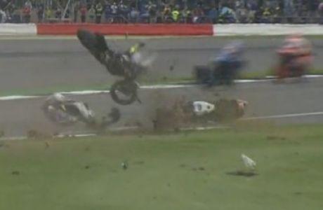 Τρομακτικό ατύχημα στο MotoGP