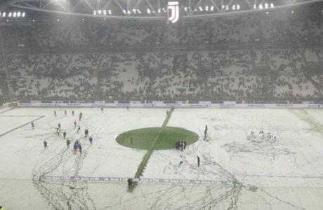 Στο Γιουβέντους-Αταλάντα ΜΕΓΑΛΟΣ νικητής βγήκε το... χιόνι!