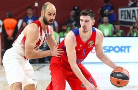 EUROLEAGUE / FINAL-4 2017 / ÏÓÖÐ - ÔÓÓÊÁ ÌÏÓ×ÁÓ / OLYMPIAKOS - CSKA MOSCOW (LATO KLODIAN / Eurokinissi Sports)
