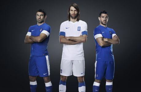 Η νέα εμφάνιση της Εθνικής από τη Nike