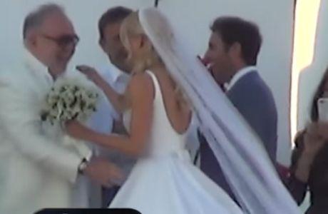 Μαρινάκης και Κόκκαλης στο γάμο Θεοδωρίδη-Δούκισας Νομικού!