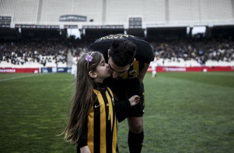 18/02/2017 AEK Vs Xanthi for Superleague season 2017-18 in OAKA Stadium in Athens, Greece  Photo by Georgia Panagopoulou / Tourette photography