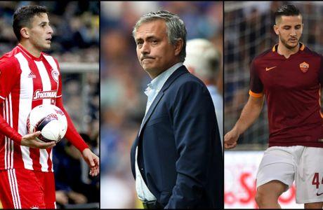 """Ο Μουρίνιο και οι τρεις """"κόκκινοι""""..."""