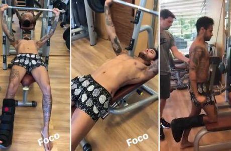 """""""Λιώνει"""" στο γυμναστήριο για να προλάβει το Μουντιάλ ο Νεϊμάρ"""