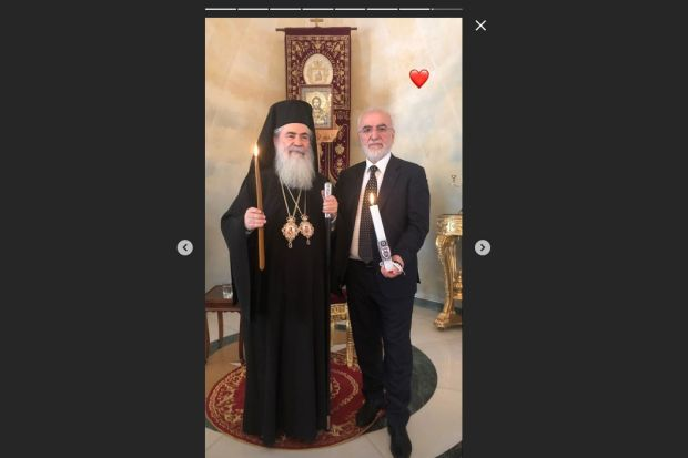 Το Άγιο Φως έρχεται Ελλάδα με... λαμπάδα του ΠΑΟΚ!