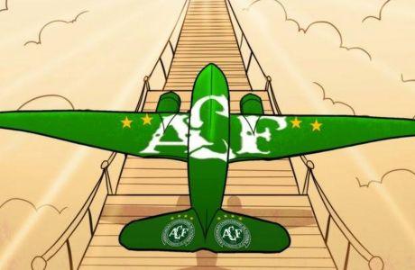 To υπέροχο σκίτσο με την μεταφορά του αεροπλάνου στον παράδεισο έγινε viral