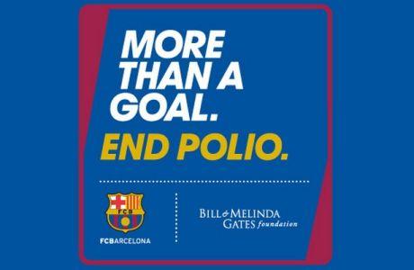 Σύμπραξη Μπάρτσα - Μπιλ Γκέιτς κατά της πολυομελίτιδας!