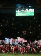 ΦΙΕΣΤΑ ΤΟΥ ΟΛΥΜΠΙΑΚΟΥ ΓΙΑ ΤΗΝ ΚΑΤΑΚΤΗΣΗ ΤΟΥ 44ου ΠΡΩΤΑΘΛΗΜΑΤΟΣ (ΒΑΣΙΛΗΣ ΜΑΡΟΥΚΑΣ / Eurokinissi Sports)