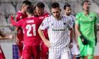 Απογοητευμένος ο Ζίβκοβιτς στο δεύτερο γκολ της Ομόνοιας. Ο ΠΑΟΚ ηττήθηκε με 2-1 στο ΓΣΠ από την κυπριακή ομάδα και αποκλείστηκε από την φάση των ομίλων του Europa League | 03/12/2020 (EUROKINISSI)