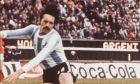 Ο Αργεντινός Λεοπόλδο Λούκε στον τελικό του Παγκοσμίου Κυπέλλου του '78, με αντίπαλο την Ολλανδία