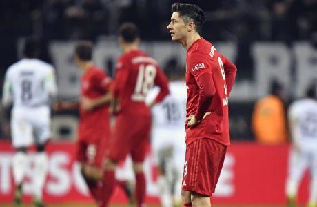 Ο Ρόμπερτ Λεβαντόφσκι της Μπάγερν έμεινε 'άσφαιρος' για άλλο ένα παιχνίδι πρωταθλήματος