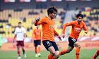 Παίκτες της Γουχάν σε πλήρη ποδοσφαιρική δράση