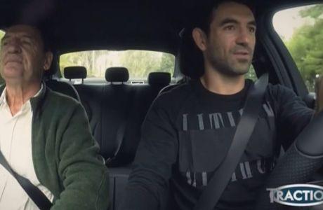 VIDEO: Στο τιμόνι μίας πολυτελoύς Mercedes ο Καραγκούνης