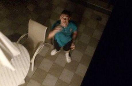 Νεαρός εισέβαλε στο δωμάτιο του Ρονάλντο