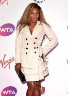 LONDON, ENGLAND - JUNE 19:  Serena Williams attends the WTA Pre-Wimbledon party at Kensington Roof Gardens on June 19, 2014 in London, England.  (Photo by Karwai Tang/WireImage)