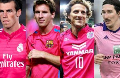 Οι 12 ομάδες με τις ροζ εμφανίσεις (PHOTOS)