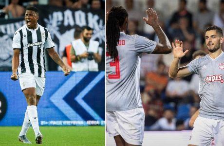 Ολυμπιακός και ΠΑΟΚ με το βλέμμα στα Playoffs και με εκατοντάδες στοιχήματα στο Stoiximan.gr