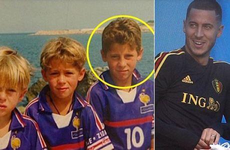 Η φωτογραφία του Αζάρ με τη φανέλα της Γαλλίας που έγινε viral!