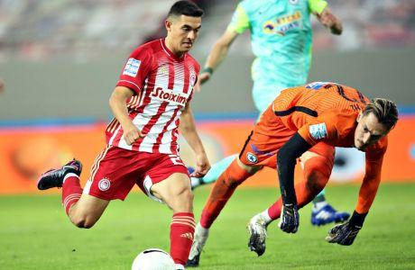 Ο Μαξιμιλιάνο Λοβέρα στη μία από τις δύο εφετινές συμμετοχές του στη σεζόν