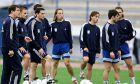 Στιγμιότυπο της προπόνησης της Εθνικής Ελλάδας, Δευτέρα 12 Νοεμβρίου 2001