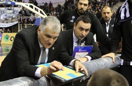 """Μαρκόπουλος: """"Δεν δώσαμε όσα επιθετικά ριμπάουντ συνηθίζουμε"""""""