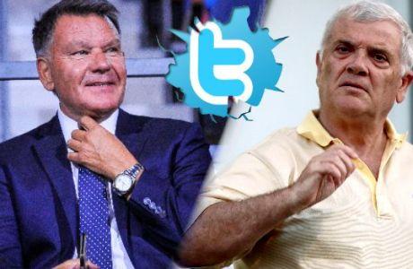 Χαμός στο twitter με τον καυγά Μελισσανίδη-Κούγια