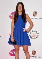 LONDON, ENGLAND - JUNE 19:  Sorana Cirstea attends the WTA Pre-Wimbledon party at Kensington Roof Gardens on June 19, 2014 in London, England.  (Photo by Karwai Tang/WireImage)