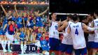 Η Σερβία κέρδισε το ευρωπαϊκό πρωτάθλημα βόλλεϋ, τόσο στους άντρες όσο και στις γυναίκες.