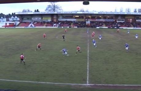ΑΠΙΣΤΕΥΤΟ γκολ στην Κόνφερενς (VIDEO)
