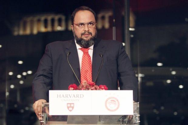 Σέντρα στο... συνέδριο του Χάρβαρντ με ομιλία Μαρινάκη